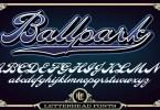 Lhf Ballpark Script [2 Fonts] | The Fonts Master
