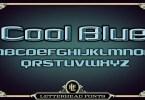 Lhf Cool Blue [2 Fonts] | The Fonts Master