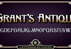 Lhf Grants Antique [1 Font] | The Fonts Master