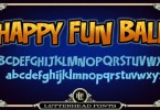Lhf Happy Fun Ball [2 Fonts] | The Fonts Master