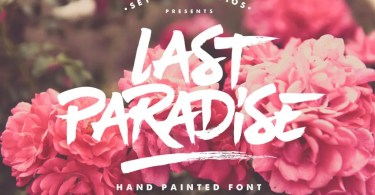 Last Paradise [1 Font] | The Fonts Master