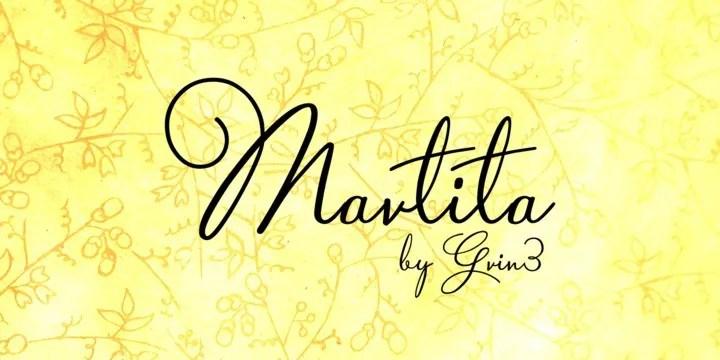 Martita [2 Fonts]