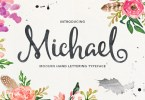 Michael Script [2 Fonts] | The Fonts Master