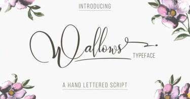 Wallows Typeface [2 Fonts]