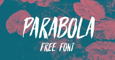Parabola [ Font] | The Fonts Master
