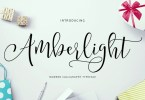 Amberlight [2 Fonts] | The Fonts Master