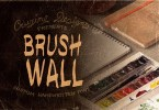 Brushwall [1 Font] | The Fonts Master