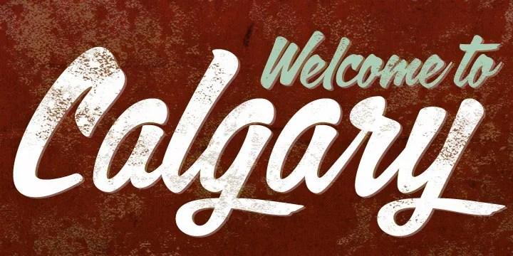 Calgary Script [1 Font]   The Fonts Master