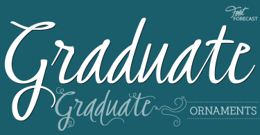 Graduate [2 Fonts] | The Fonts Master