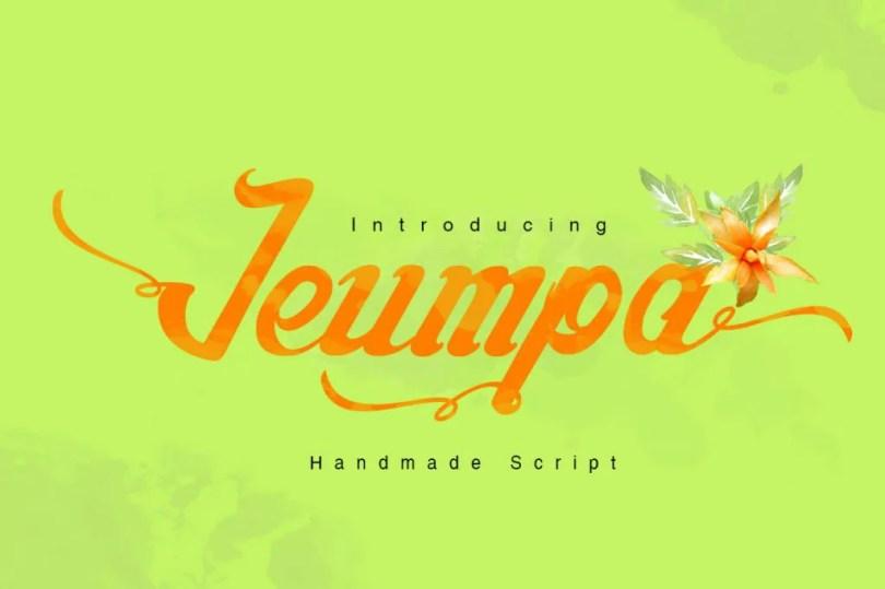 Jeumpa Script [1 Font]