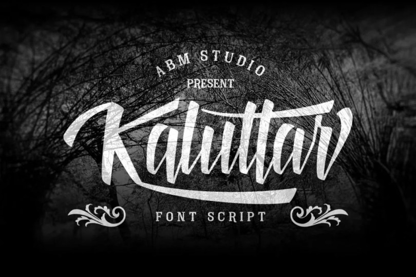 Kaluttar Script [1 Font] | The Fonts Master