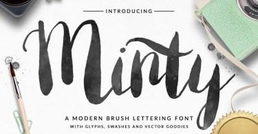 Minty [1 Font]