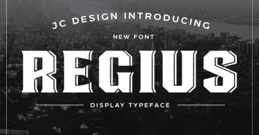 Regius Typeface [2 Fonts] | The Fonts Master