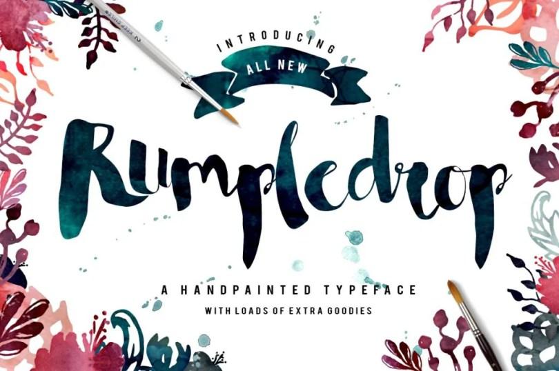 Rumpledrop [1 Font] | The Fonts Master