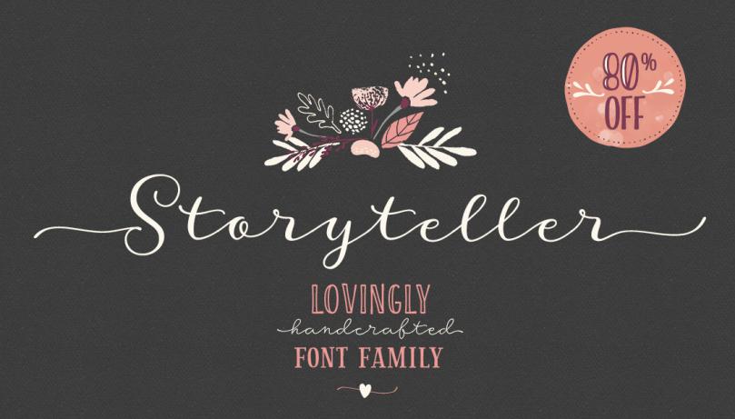 Storyteller Super Family [19 Fonts] | The Fonts Master