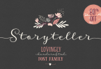 Storyteller Super Family [19 Fonts] | The Fonts Master