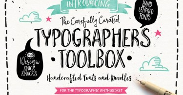 The Typographer'S Toolbox [18 Fonts + Extras] | The Fonts Master