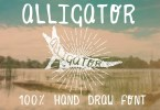 Alligator [1 Font + Extras] | The Fonts Master