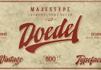 Doedel [10 Fonts] | The Fonts Master