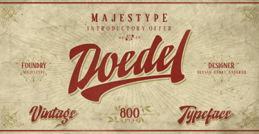 Doedel [10 Fonts] | The Fonts Master