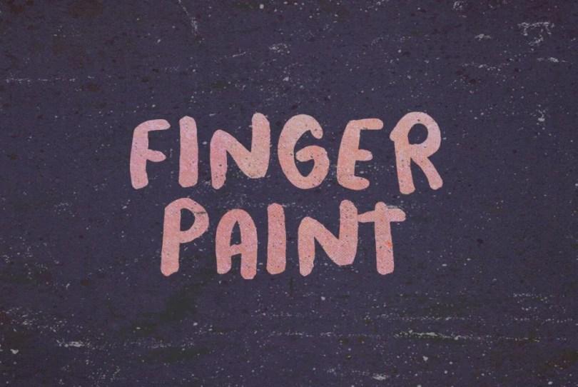 Finger Paint [1 Font] | The Fonts Master