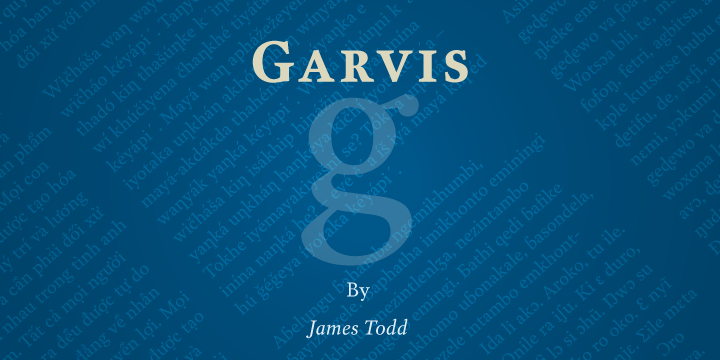 Garvis Pro [4 Fonts] | The Fonts Master