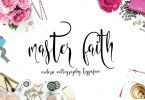 Master Faith [1 Font + Bonus] | The Fonts Master
