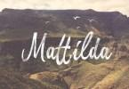 Mattilda [1 Font] | The Fonts Master