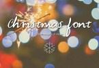 Christmas Font - Handwritten Font [1 Font] | The Fonts Master