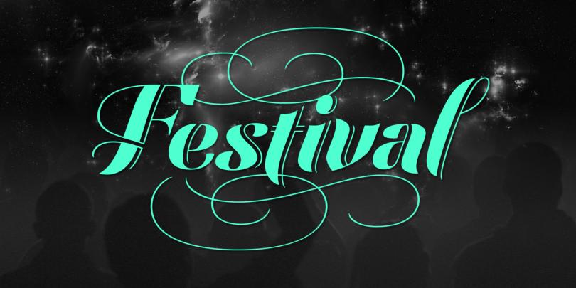 Festival Script Pro [1 Font] | The Fonts Master