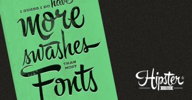 Hipster Script Pro [1 Font]   The Fonts Master