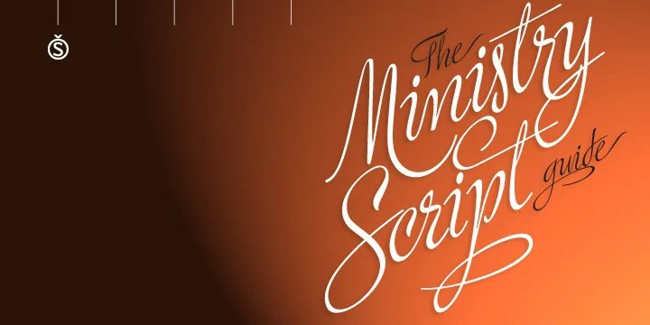 Ministry Script [1 Font]   The Fonts Master