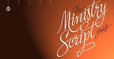 Ministry Script [1 Font]
