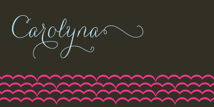 Carolyna [3 Fonts] | The Fonts Master