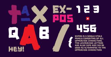 YWFT Expos [1 Font]