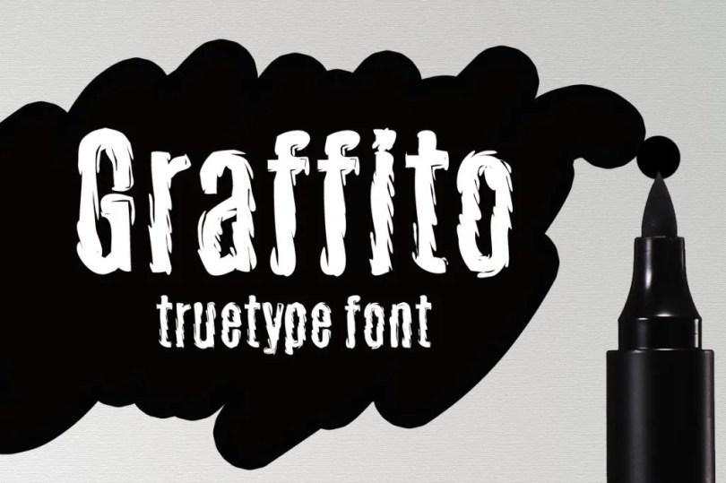 Graffito [1 Font] | The Fonts Master