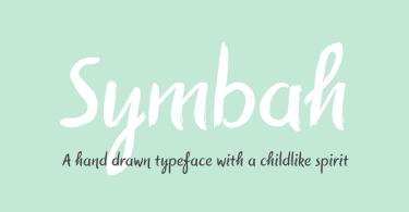 Symbah [1 Font] | The Fonts Master
