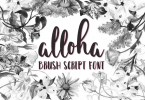 Alloha [1 Font] | The Fonts Master