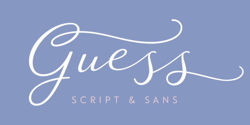 Guess [14 Fonts] | The Fonts Master