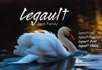 Legault [4 Fonts] | The Fonts Master