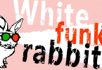White Funky Rabbit [1 Font]   The Fonts Master