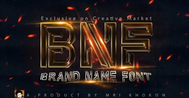 Brand Name Font [2 Fonts] | The Fonts Master