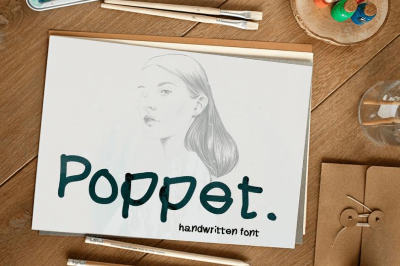 Poppet [1 Font]   The Fonts Master