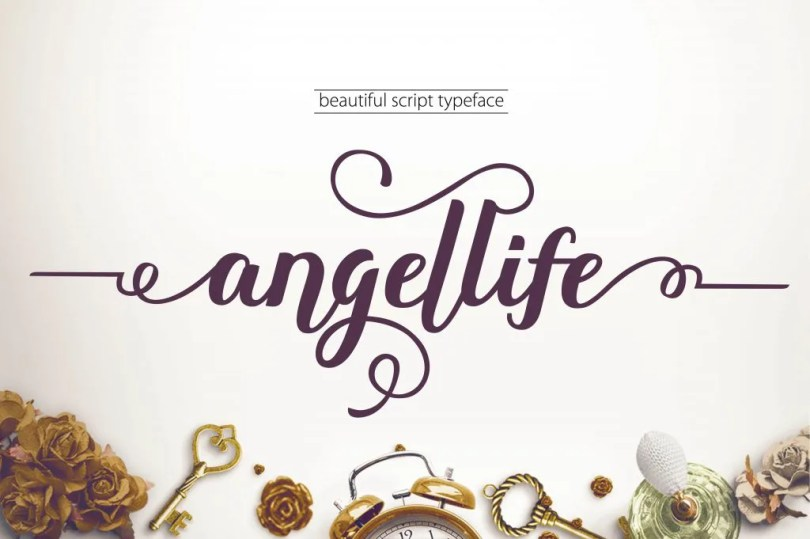 Angellife [1 Font] | The Fonts Master