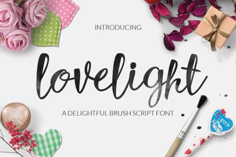 Lovelight [1 Font]   The Fonts Master