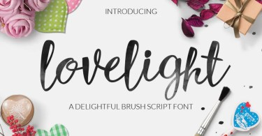 Lovelight [1 Font] | The Fonts Master