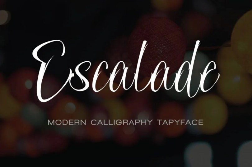 Escalade [1 Font] | The Fonts Master