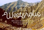 Westerous [2 Fonts] | The Fonts Master