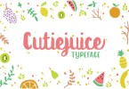 Cutiejuice [1 Font] | The Fonts Master