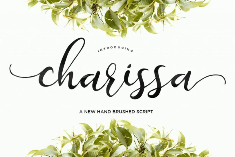 Charissa Script [1 Font]   The Fonts Master